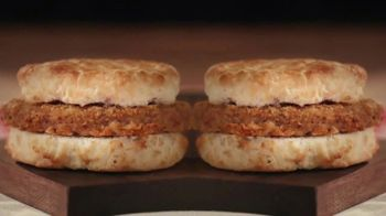 Bojangles Steak Biscuit TV Spot, 'Holidays: You're Not Seeing Double'