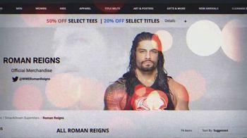 WWE Shop TV Spot, 'Black Friday Pricing: Titles and 50% Off Tees' - Thumbnail 4