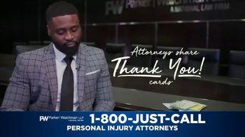 Parker Waichman TV Spot, 'Thank You Cards: Gratitude' - Thumbnail 1