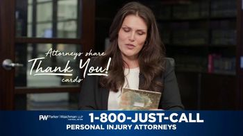 Parker Waichman TV Spot, 'Thank You Cards: Top Priority' - Thumbnail 3