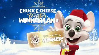 Chuck E. Cheese Winter Winner-Land TV Spot, 'Every Kid's a Winner' - Thumbnail 1