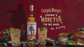 Captain Morgan Original Spiced Rum TV Spot, 'Holidays: Captain Turkey' - Thumbnail 9