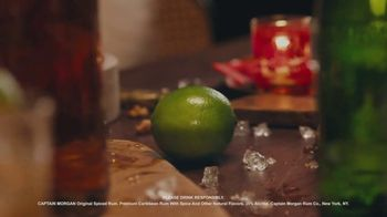 Captain Morgan Original Spiced Rum TV Spot, 'Holidays: Captain Turkey' - Thumbnail 5