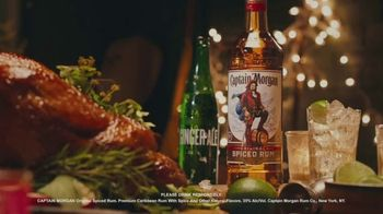 Captain Morgan Original Spiced Rum TV Spot, 'Holidays: Captain Turkey' - Thumbnail 6