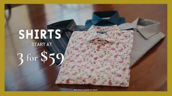 Men's Wearhouse Black Friday TV Spot, 'Shirts, Sweaters, Pants and Suits' - Thumbnail 2