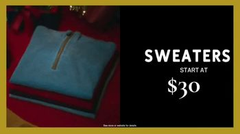 Men's Wearhouse Black Friday TV Spot, 'Shirts, Sweaters, Pants and Suits' - Thumbnail 3