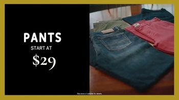 Men's Wearhouse Black Friday TV Spot, 'Shirts, Sweaters, Pants and Suits' - Thumbnail 4