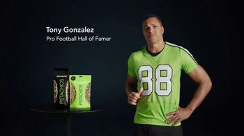 Wonderful Pistachios TV Spot, 'Goalpost' Featuring Tony Gonzalez