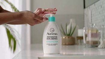 Aveeno Restorative Skin Therapy TV Spot, 'Intensely Moisturizes Over Time' - Thumbnail 4