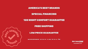 Mattress Firm TV Spot, 'Rest Assured Promise: Save Up to $500 and a $300 Instant Gift' - Thumbnail 9