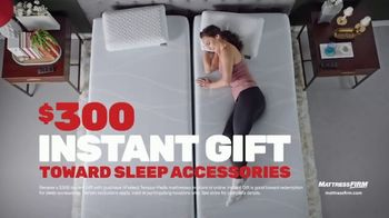 Mattress Firm TV Spot, 'Rest Assured Promise: Save Up to $500 and a $300 Instant Gift'