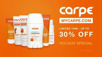 Carpe Holiday Special TV Spot, 'This Is Patrick's Sweat Story: Up to 30% Off' - Thumbnail 4