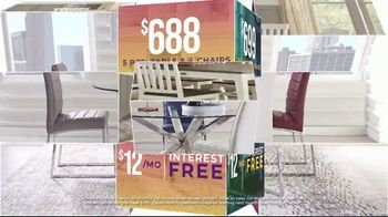 Rooms to Go Holiday Sale TV Spot, 'Perfect Look: Sectionals and Dining Sets' - Thumbnail 8