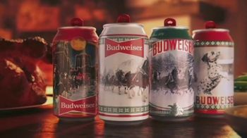 Budweiser TV Spot, 'Get in the Holiday Spirit' - 7906 commercial airings