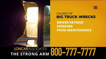 Loncar & Associates TV Spot, 'Driver Fatigue: Truck Wrecks' - Thumbnail 1