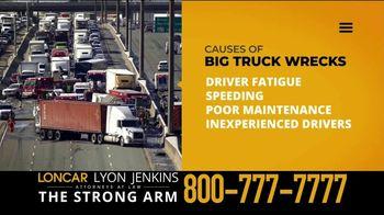Loncar & Associates TV Spot, 'Driver Fatigue: Truck Wrecks' - Thumbnail 2