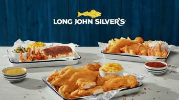 Long John Silver's Variety Platters TV Spot, 'Cheesin' All Season' - Thumbnail 8