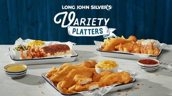 Long John Silver's Variety Platters TV Spot, 'Cheesin' All Season' - Thumbnail 2