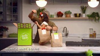 HelloFresh Black Friday Sale TV Spot, 'Monica, Matt and Olive: Quality Time on a Weeknight' - Thumbnail 1