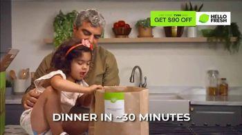 HelloFresh Black Friday Sale TV Spot, 'Monica, Matt and Olive: Quality Time on a Weeknight' - Thumbnail 3