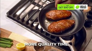 HelloFresh Black Friday Sale TV Spot, 'Monica, Matt and Olive: Quality Time on a Weeknight' - Thumbnail 5