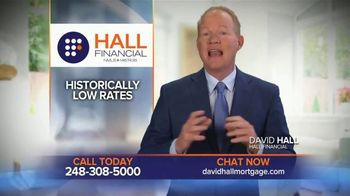 Hall Financial TV Spot, 'Now's the Time to Refinance' - Thumbnail 1