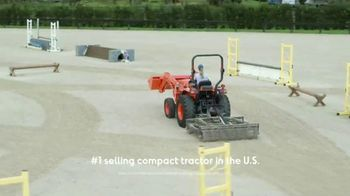 Kubota Compact Tractors TV Spot, 'Now's the Time: Zero Down + Save Up to $1,700' - Thumbnail 3
