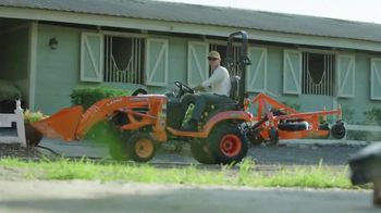 Kubota Compact Tractors TV Spot, 'Now's the Time: Zero Down + Save Up to $1,700' - Thumbnail 4