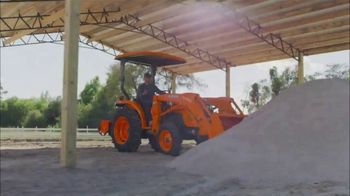 Kubota Compact Tractors TV Spot, 'Now's the Time: Zero Down + Save Up to $1,700' - Thumbnail 5