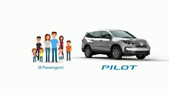 Happy Honda Days Sales Event TV Spot, 'Hello Pilot' [T2] - Thumbnail 4