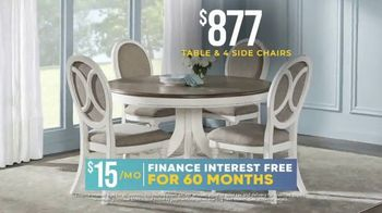 Rooms to Go Holiday Sale TV Spot, '$877 Table & Side Chairs' - Thumbnail 3