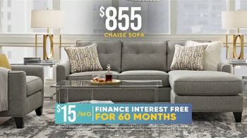 Rooms to Go Holiday Sale TV Spot, '$855 Chaise Sofa' - Thumbnail 4