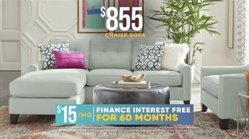 Rooms to Go Holiday Sale TV Spot, '$855 Chaise Sofa' - Thumbnail 5