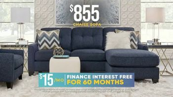 Rooms to Go Holiday Sale TV Spot, '$855 Chaise Sofa' - Thumbnail 6