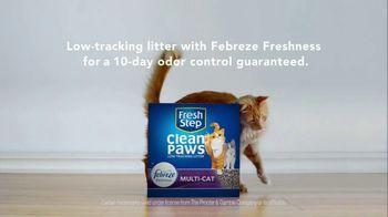 Fresh Step Clean Paws TV Spot, 'Cleaner Beans' - Thumbnail 10