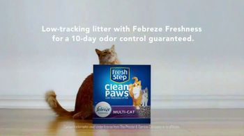 Fresh Step Clean Paws TV Spot, 'Cleaner Beans' - Thumbnail 9