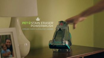 Bissell Pet Stain Eraser Powerbrush TV Spot, 'Every Mess' - Thumbnail 5