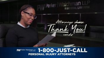 Parker Waichman TV Spot, 'Thank You Cards: Mother' - Thumbnail 2