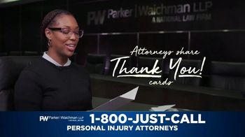 Parker Waichman TV Spot, 'Thank You Cards: Mother' - Thumbnail 3
