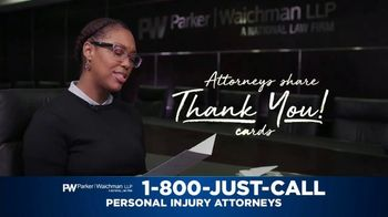 Parker Waichman TV Spot, 'Thank You Cards: Mother' - Thumbnail 4