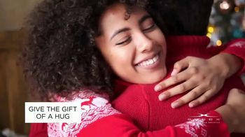 Sheex Calm + Cool Weighted Blanket TV Spot, 'Holidays: Give the Gift of a Hug'