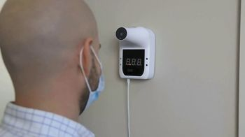 Cetus Tech Commercial Touchless Forehead Thermometer TV Spot, 'Easy' - Thumbnail 2