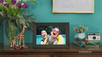 Aura Frames TV Spot, 'Life's Moments'