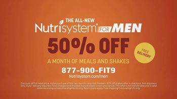 Nutrisystem for Men TV Spot, 'It's That Simple: 50% Off a Month of Meals and Shakes' - Thumbnail 9