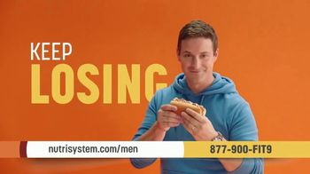 Nutrisystem for Men TV Spot, 'It's That Simple: 50% Off a Month of Meals and Shakes'