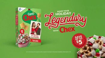Chex TV Spot, 'Holidays: Chrissy and John' - Thumbnail 10