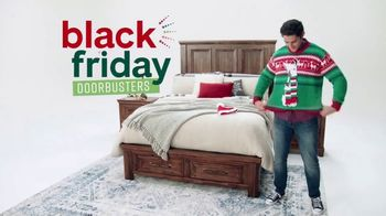 Ashley HomeStore Black Friday Doorbusters TV Spot, 'Power Recliner and Queen Panel Bed'
