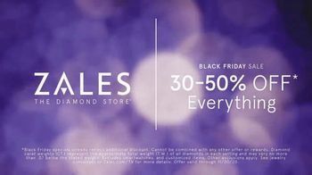 Zales Black Friday Sale TV Spot, 'All the Diamonds:50% Off' - Thumbnail 5