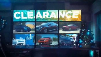 Happy Honda Days Sales Event TV Spot, 'Holiday Clearance: Civic' [T2] - Thumbnail 1