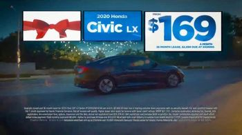 Happy Honda Days Sales Event TV Spot, 'Holiday Clearance: Civic' [T2] - Thumbnail 2